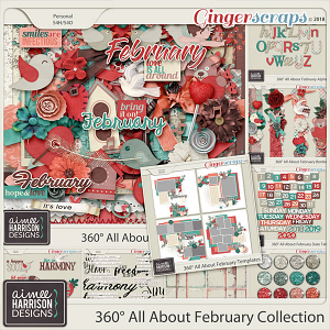 360°Life All About February Collection by Aimee Harrison