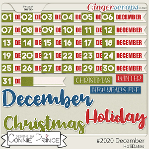 #2020 December - HoliDates by Connie Prince