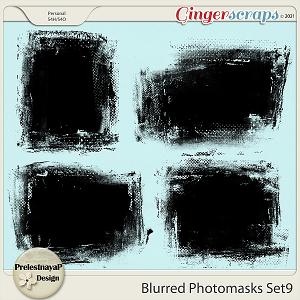Blurred Photomasks Set9