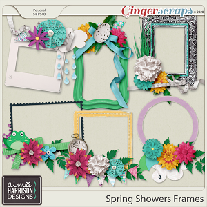 Spring Showers Frame Clusters by Aimee Harrison