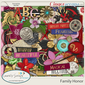 Family Honor  Page Kit