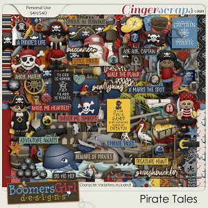 Pirate Tales by BoomersGirl Designs