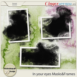 In your eyes Masks&Frames