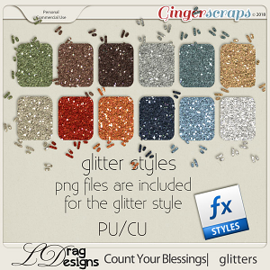 Count Your Blessings_Glitterstyles by LDragDesigns