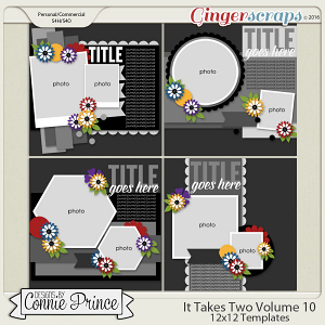 It Takes Two Volume 10 - 12x12 Temps (CU Ok)