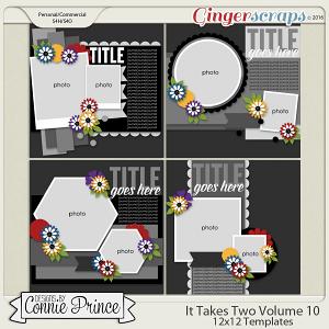 It Takes Two Volume 10 - 12x12 Temps (CU Ok)