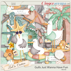 Gulls Just Wanna Have Fun Mini Kit