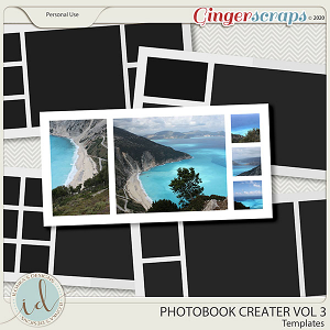 Photobook Creater Vol 3 by Ilonka's Designs