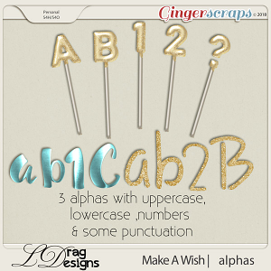 Make A Wish: Alphas by LDrag Designs