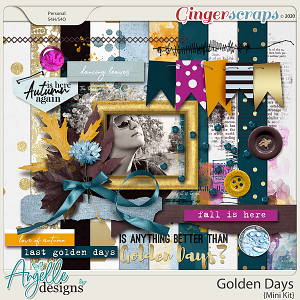 Golden Days Mini Kit by Angelle Designs