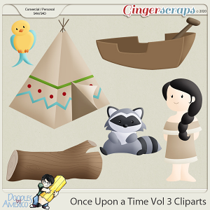 Doodles By Americo: Once Upon a Time Vol 3 Cliparts