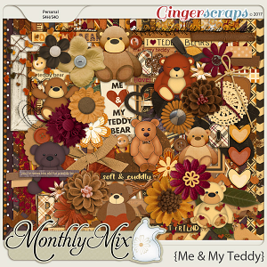 GingerBread Ladies Monthly Mix: Me & My Teddy