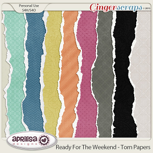 Ready For The Weekend - Torn Papers