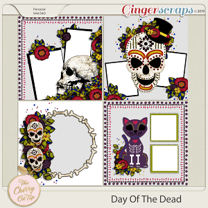 The Cherry On Top Day Of The Dead Templates