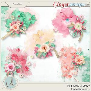Blown Away Embellishments by Ilonka's Designs