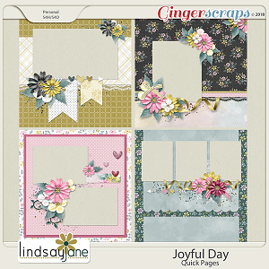 Joyful Day Quick Pages by Lindsay Jane