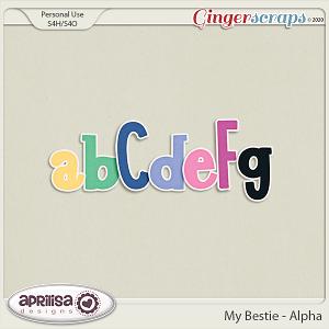My Bestie - Alpha by Aprilisa Designs