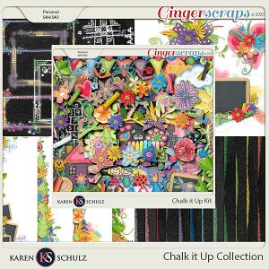 Chalk it Up Collection by Karen Schulz