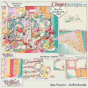 May Flowers Buffet Bundle