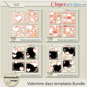 Valentine Day Templates Bundle