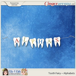 Tooth Fairy Alphabets by K4K