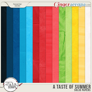 A Taste of Summer - Solid Papers - by Neia Scraps