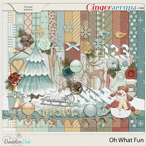 Oh What Fun Digital Scrapbook Collection by Dandelion Dust Designs