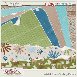 Wild & Free Shabby Papers