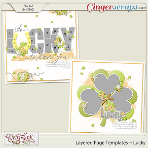 Layered Page Templates ~ Lucky