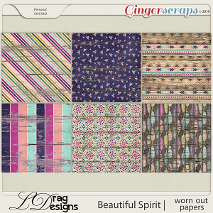 Beautiful Spirit: Worn Out Papers by LDragDesigns