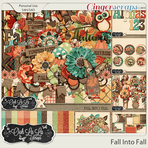 Fall Into Fall Digital Scrapbooking Collection