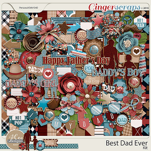 Best Dad Ever Kit by JoCee Designs