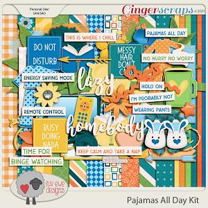 Pajamas All Day Kit by Luv Ewe Designs