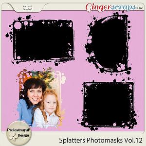 Splatters Photomasks Vol.12