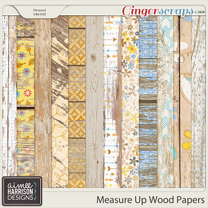 Measure Up Wood Papers by Aimee Harrison