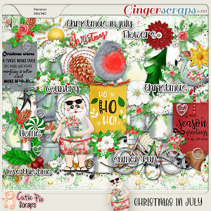 Christmas In July Elements