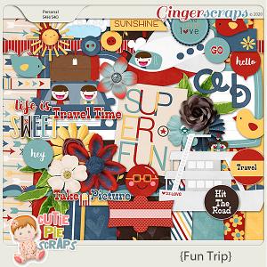 Fun Trip Scrapbooking Kit
