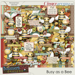 Busy as a Bee by BoomersGirl Designs
