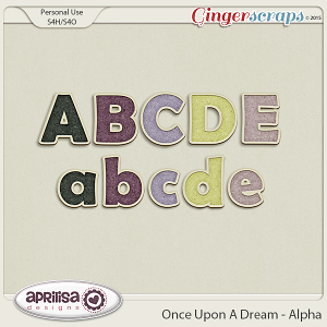 Once Upon A Dream - Alpha by Aprilisa Designs