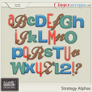 Strategy Alpha Sets by Aimee Harrison