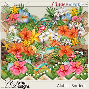 Aloha: Borders by LDragDesigns