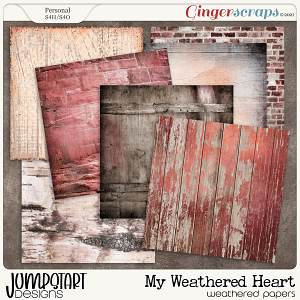 My Weathered Heart {Weathered Papers}