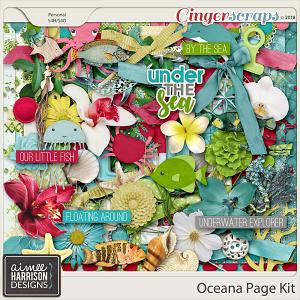 Oceana Page Kit by Aimee Harrison