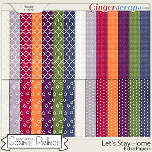 Let's Stay Home - Extra Papers by Connie Prince