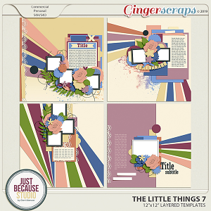 The Little Things 7 Templates by JB Studio