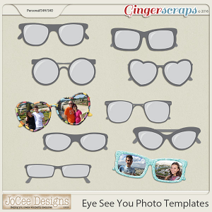 Eye See You Photo Templates