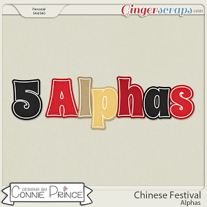 Chinese Festival - Alpha Pack AddOn by Connie Prince