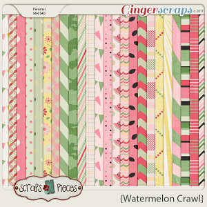 Watermelon Crawl - Pattern Papers