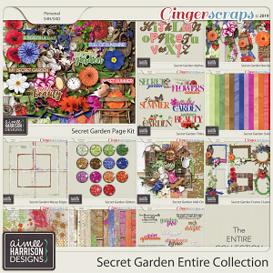 Secret Garden Entire Collection by Aimee Harrison