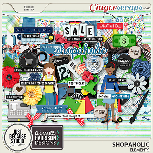 Shopaholic Elements by JB Studio and Aimee Harrison Designs